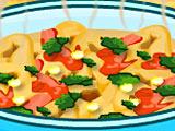 Тортеллини со шпинатом Попая