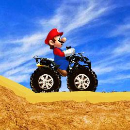Супер квадроцикл Марио / Mario Super ATV