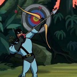 Бэтмен стрелок герой