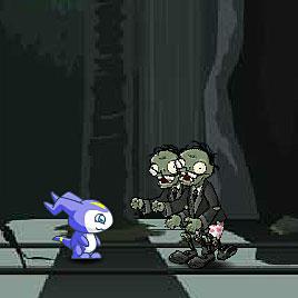 Дигимоны атакуют зомби