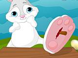 Пасхальный кролик поранил лапку
