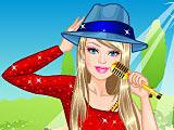 Принцесса Барби на концерте