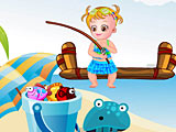 Малышка Хейзел: день рыбалки