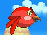 Красная флиппи птичка 2