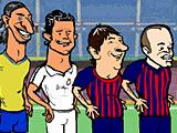 Запуск футбольных звезд