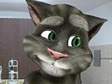 Говорящий кот Том у доктора