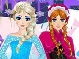 Холодное сердце: снежные принцессы