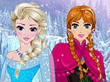 Холодное сердце: прически Анны и Эльзы