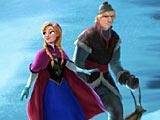 Холодное сердце: Анна и Кристофф в метель