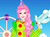 Барби клоун