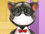 Говорящий кот Том: большой макияж