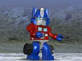 Собрать Трансформера Лего