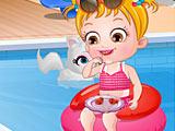 Малышка Хейзел: летние развлечения