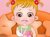 Малышка Хейзел: перелом руки