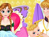 Анна рожает малыша