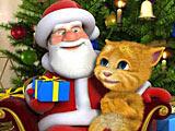 Говорящий Рыжик и Санта Клаус