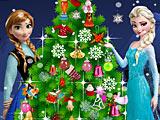Холодное сердце: Новогодняя ёлка Эльзы и Анны