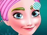 Холодное сердце: новогодний макияж Анны