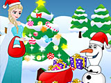 Холодное сердце: новогодние подарки Эльзы и Олафа