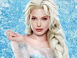 Холодное сердце: Анджелина Джоли как Эльза