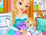 Холодное сердце: королева Эльза рожает малыша