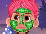 Холодное сердце: новогодний макияж Кристофа