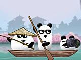 Три панды в Японии