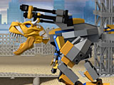 Лего трансформеры: кормить Гримлока