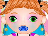 Холодное сердце: грязная малышка Анна