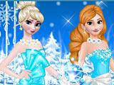 Холодное сердце: Эльза и Анна одеваются на вечеринку