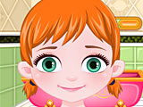 Холодное сердце: Анна девушка с цветами
