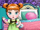 Холодное сердце Анна украшает спальню