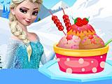 Холодное сердце: Эльза украшает мороженое