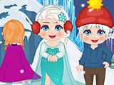 Холодное сердце: новогоднее безделье Эльзы