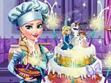 Холодное сердце: Эльза готовит фруктовый торт