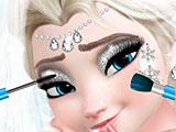 Холодное сердце: свадебный макияж Эльзы