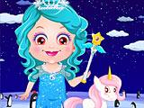 Малышка Хейзел ледяная принцесса