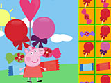 Свинка Пеппа собирает конфеты