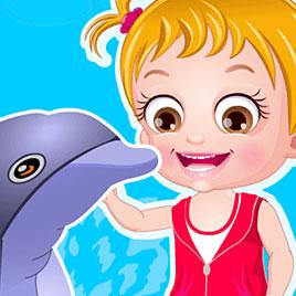Малышка Хейзел: тур с дельфинам