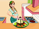 Холодное сердце: беременная Анна готовит мороженое