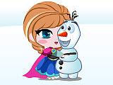 Холодное сердце: Анна ловит Олафа