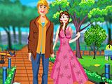 Холодное сердце: Анна и Кристоф убирают в парке