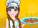 Холодное сердце: Анна готовит пиццу