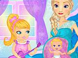 Холодное сердце: Эльза играет с малышом в животике