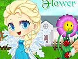Холодное сердце: Эльза выращивает цветок
