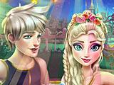 Холодное сердце: Эльза и Джек в джакузи
