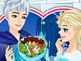 Холодное сердце день влюбленных: Эльза и Джек