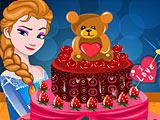 Холодное сердце: Торт Эльзы на День святого Валентина