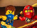 Лего ниндзя драки