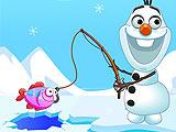 Холодное сердце: Олаф на рыбалке